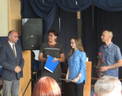 Nasi laureaci Nagrody Burmistrza za rok szkolny 2016/2017