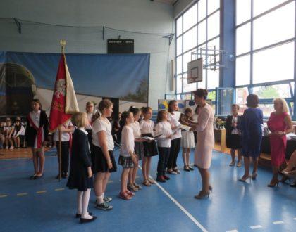 Fotorelacja z uroczystości zakończenia roku szkolnego 2016/2017