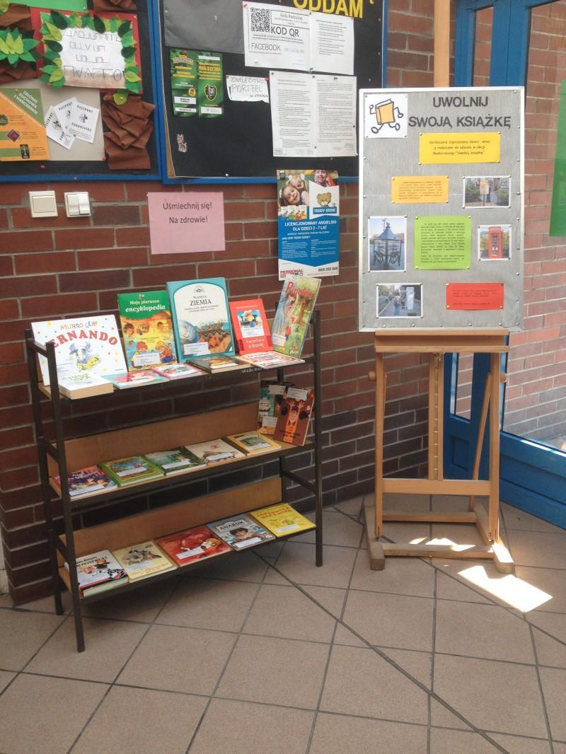 """""""Uwolnij książkę"""" - Bookcrossing w naszej szkole"""