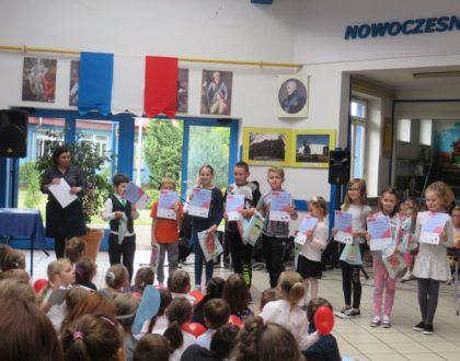 Półfinał konkursu DIS-MOI DIX MOTS  w naszej szkole