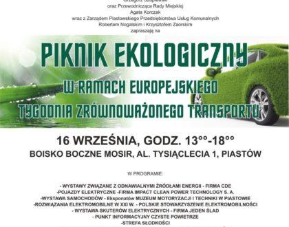 Zaproszenie na Piknik Ekologiczny