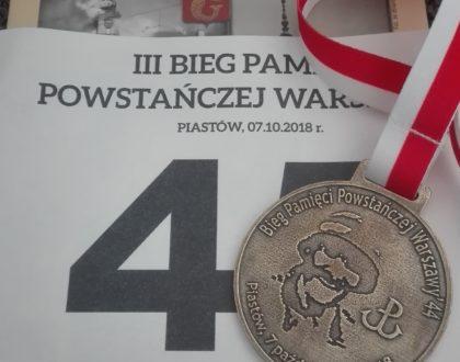 Bieg Pamięci Walczącej Warszawy
