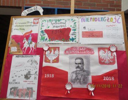 Podsumowanie działań związanych z obchodami 100-lecia odzyskania niepodległości