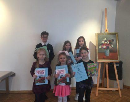 """Laureaci 42 Konkursu Recytatorskiego """"Warszawska Syrenka"""""""
