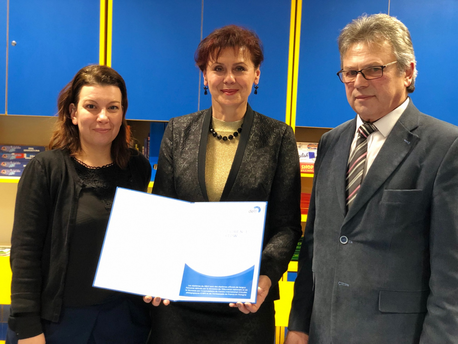 Inauguracja placówki egzaminacyjnej DELF w Piastowie