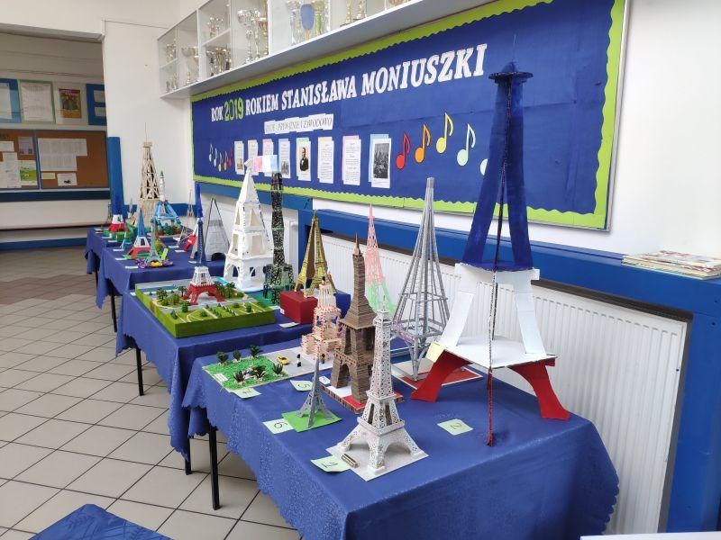 Wyniki konkursu na najlepszą prezentację o kraju frankofońskim z elementami języka francuskiego