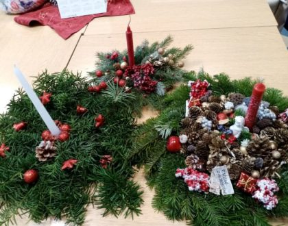Konkurs na najładniejszy stroik świąteczny