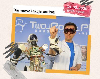 Kolejna lekcja robotyki już jutro (16.05)