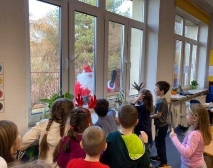 Mikołaj w oddziałach przedszkolnych