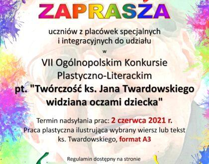 """Konkurs """"Twórczość ks. Jana Twardowskiego widziana oczami dziecka"""""""