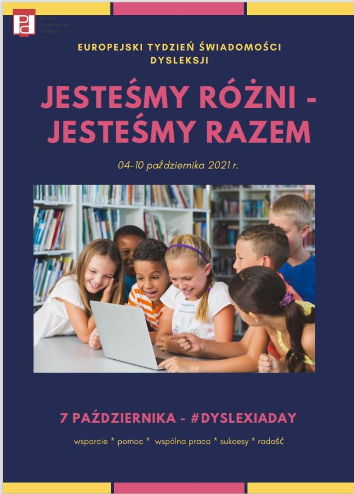 Europejski Tydzień Świadomości Dysleksji 2021/2022
