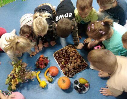 Powitanie jesieni w klasie 0A