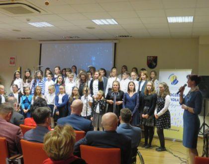 Koncert naszego chóru  w Starostwie Powiatowym w Pruszkowie