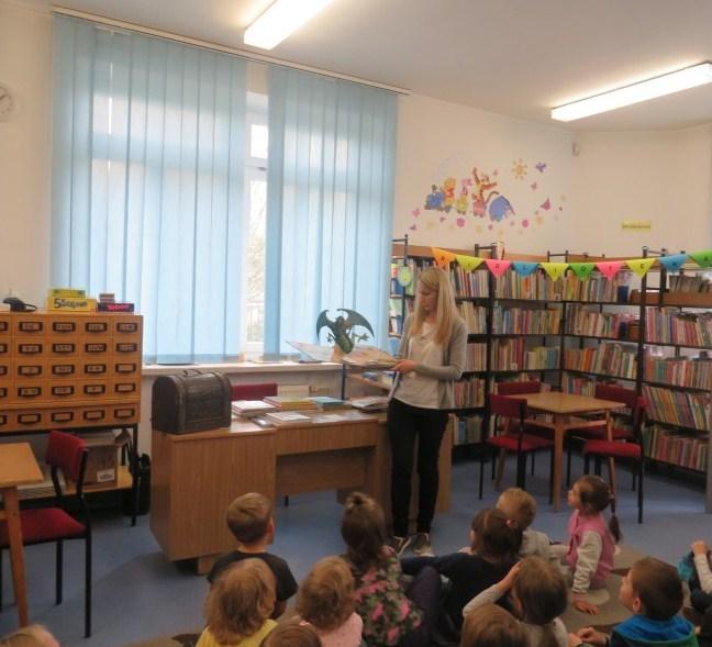 Wizyta przedszkolaków w naszej bibliotece