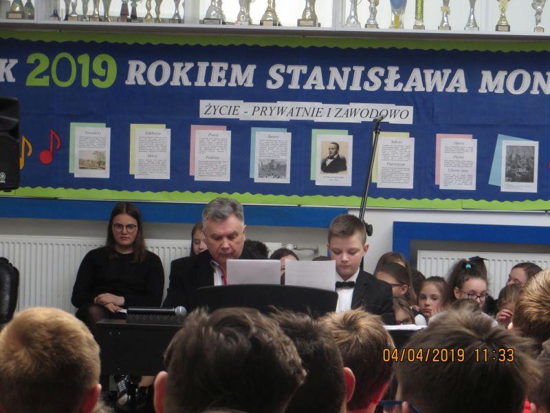 Apel poświęcony życiu i twórczości Stanisława Moniuszki