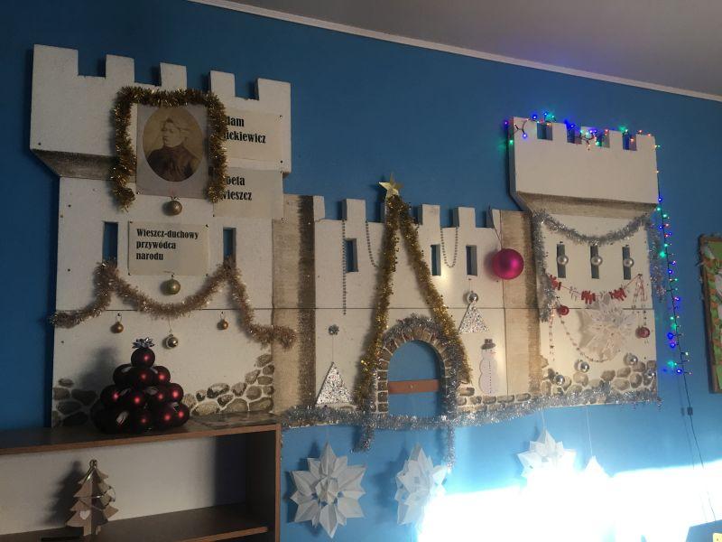 Najpiękniejsza świąteczna sala lekcyjna
