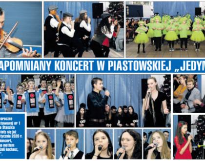 Niezapomniany koncert w piastowskiej Jedynce