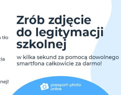 Bezpłatne zdjęcia do legitymacji szkolnej
